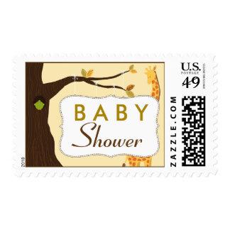 Baby Tree Sign Baby Shower Stamp (yellow)