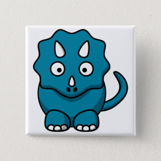 Baby Triceratops Button
