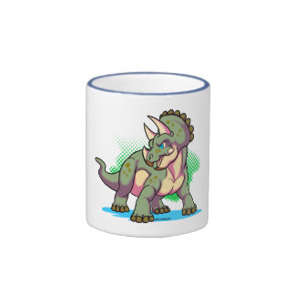Baby triceratops coffee mugs