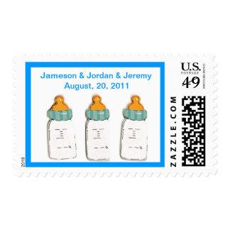 Baby Triplet Bottles U.S. Postage Stamp