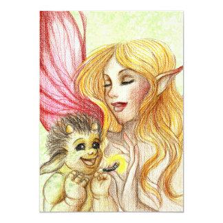 Baby troll card