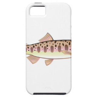 Baby trout cartoonified vector Art fish farm iPhone SE/5/5s Case