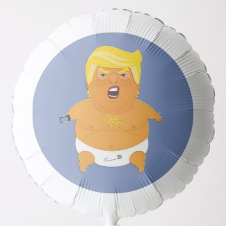 Baby Trump Helium Balloon
