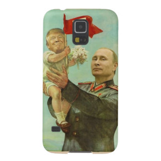 Baby Trump with Putin Galaxy S5 Cover