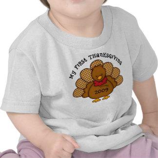 Baby Turkey 1st Thanksgiving Tshirts