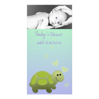 Baby Turtle Announcment Card