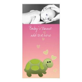 Baby Turtle Announcment Card