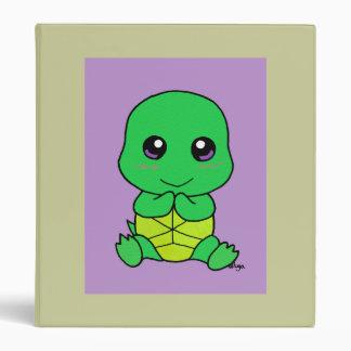 Baby turtle binder