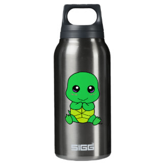 Baby turtle insulated water bottle