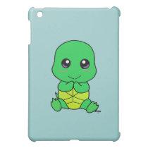 Baby turtle iPad mini cover