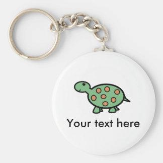 Baby turtle key chain