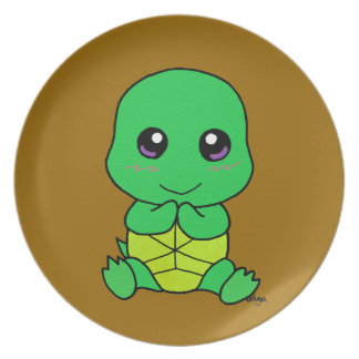 Baby turtle plate