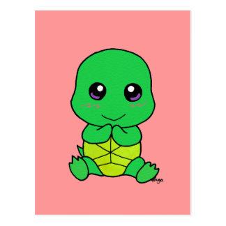 Baby turtle postcard