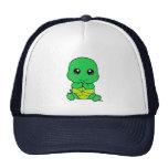 Baby turtle trucker hat