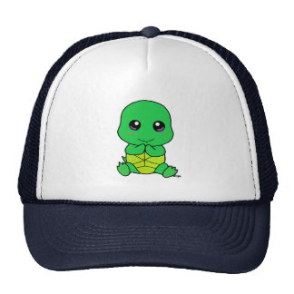 Baby turtle trucker hat