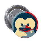 Baby Tux Linux 2 Inch Round Button
