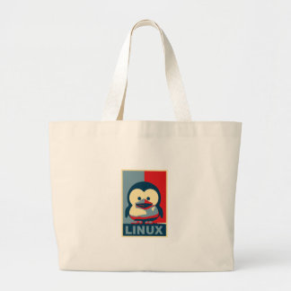 Baby Tux Linux Canvas Bags
