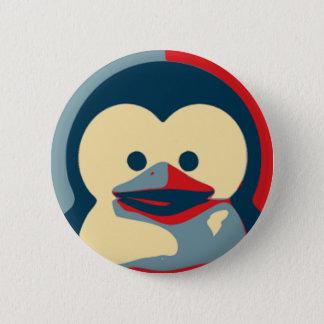 Baby Tux Linux Button