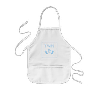 Baby Twin A / B for boys Kids' Apron