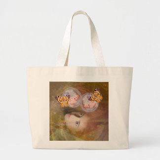 Baby twin boys or girls canvas bags