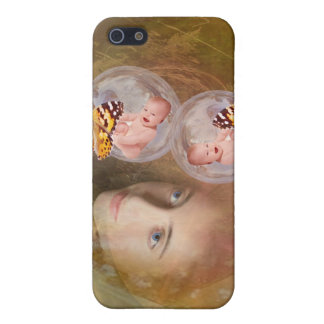 Baby twin boys or girls case for iPhone SE/5/5s