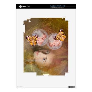 Baby twin boys or girls iPad 2 skins