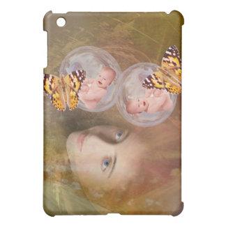 Baby twin boys or girls iPad mini case