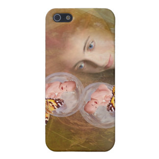 Baby twin boys or girls iPhone SE/5/5s cover