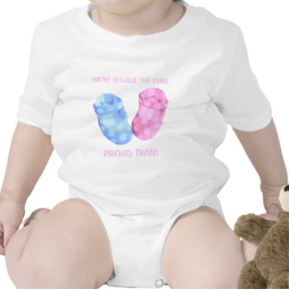 Baby Twins Booties girl Infant T Shirt