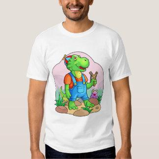 baby tyrannosaurus shirt