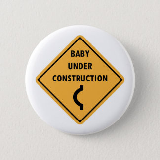 Baby Under Construction Button