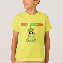 """baby  unicorn"" Baby DADDY Matching Family unicorn T-Shirt"