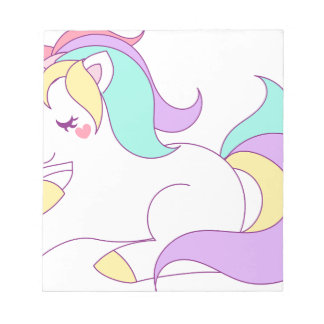 Baby Unicorn Notepad