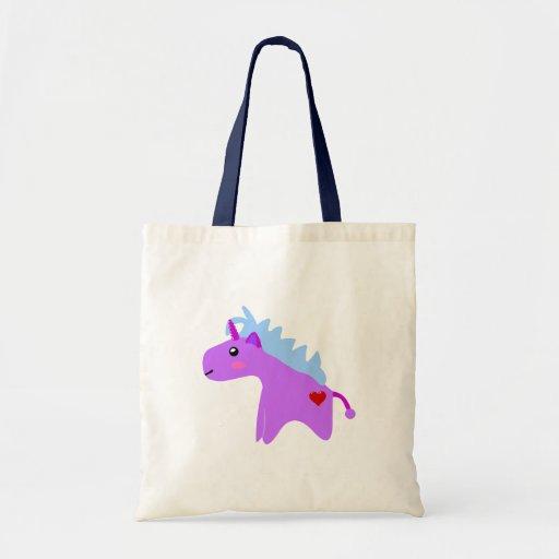 Baby Unicorn Tote Bags