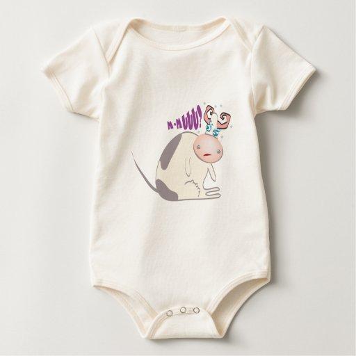 Baby vaca baby bodysuit