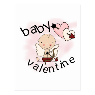 Baby Valentine Tshirts and Gifts Post Card