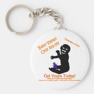 Baby Vamp, Only $19.95! Basic Round Button Keychain
