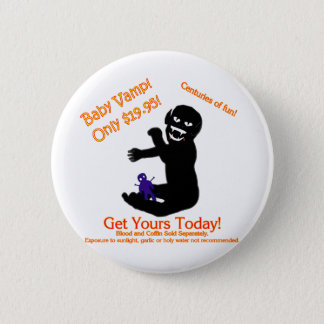 Baby Vamp, Only $19.95! Pinback Button