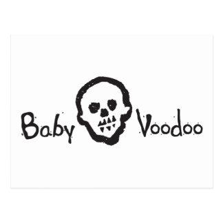 Baby Voodoo Mama Papa Magic Postcard
