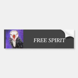Baby Vulture Bumper Sticker