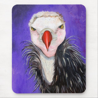 Baby Vulture Mouse Pad