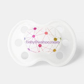 """baby@wahoo.mom"" Baby Pacifier"