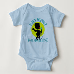 Baby Wanna Showtune (Boy Baby Bodysuit