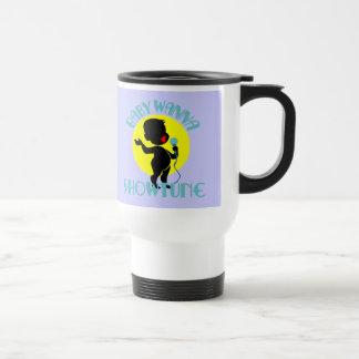 Baby Wanna Showtune (Boy) Travel Mug