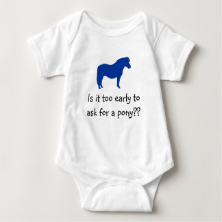 Baby Wants Pony Baby Bodysuit