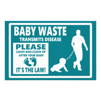 BABY WASTE - Courtesy Notice Flyer