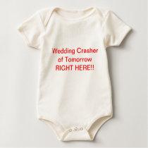 Baby wedding crasher top