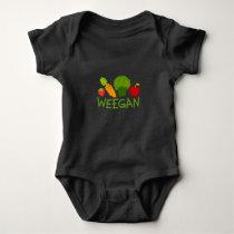Baby Weegan Bodysuit - Dark