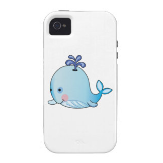 BABY WHALE iPhone 4/4S CASES