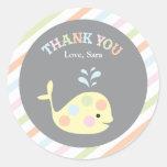 Baby Whale  |  Favor Sticker